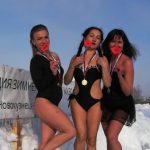 «Холодное» поздравление записали кемеровчанки защитникам Отечества