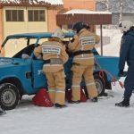 Анжеро-Судженские спасатели соревновались в умении спасать