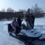 Прогулка на снегоходе обернулась для жителя Беловского района штрафом