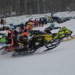 Подведены итоги гонок на мотоциклах и снегоходах, которые прошли в Кемерове