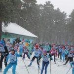 В Топках на центральный старт «Лыжни России» вышли более 600 человек