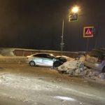 Четыре человека получили травмы в ДТП в Новокузнецке