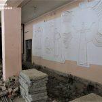В поселке Новостройка продолжается ремонт Дома культуры