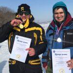На Беловском водохранилище прошли соревнования по рыболовному спорту