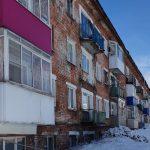 В Шерегеше из-за снега рухнул балкон многоквартирного дома