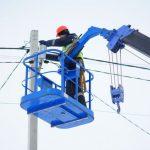 В Юрге меняют уличные светильники