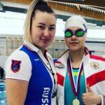 «Русалка» из Мысков завоевала три золотые медали