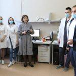 Мэр Кемерова поздравил медперсонал больницы, в которой проходит лечение