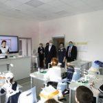 Сергей Цивилев открыл новую школу в поселке Металлургов Новокузнецкого района