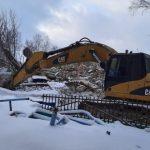В Кузбассе снесли опасное школьное здание