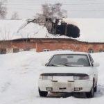 В Белове крыша дома обвалилась под тяжестью снега