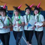 В Промышленновском округе ведьмочки стали самыми спортивными женщинами