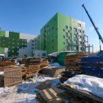 Главный корпус Новокузнецкой инфекционной больницы готов на 70%