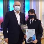 Губернатор Кузбасса поздравил женщин «неженских» профессий