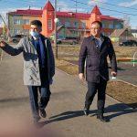 Мэр Кемерова посетил посёлок Пионер и провел встречу с его жителями
