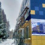 Капитальный ремонт крупнейшей таштагольской школы завершат досрочно