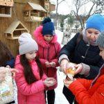 Журналисты  «Кузбасса» вместе с юннатами устроили праздник для птиц