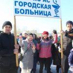 Кузбасские города присоединились к Всероссийской акции «10 000 шагов к жизни»