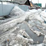 Проблемное зимнее «наследство»