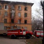 При пожаре в Новокузнецке пришлось эвакуировать 45 человек