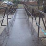 В Мысках продолжает подниматься уровень воды в реках