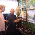 Житель Калтана собрал занятную коллекцию утюгов