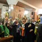 Кузбассовцы отмечают Вербное воскресенье