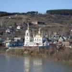 В Таштагольском районе частично вскрылась ото льда река Мундыбаш