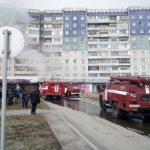 В Кемерове в культурном центре произошел пожар