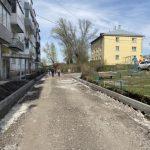 В Ленинске-Кузнецком подрядчик приступил к ремонту дворов