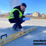 В Мариинском районе эксперты проверили качество дорог