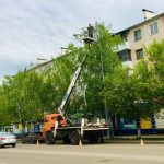 В Берёзовском меняют уличные светильники