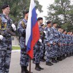 В Новокузнецке ОМОН отмечает 28 лет со дня образования