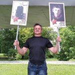 В Новокузнецке местный житель запустил акцию памяти