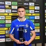 Кемеровский футболист признан лучшим игроком матча российской Премьер-Лиги