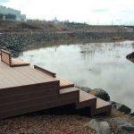 В Кемерове у Искитимки установили новую смотровую площадку