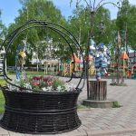 В Киселёвске появилась клумба в честь 300-летия Кузбасса