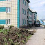 В Полысаеве отремонтируют 11 дворовых территорий многоквартирных домов