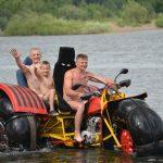 Новокузнецкий изобретатель создал невероятное транспортное средство