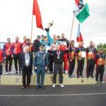 В Кузбассе определились победители всероссийских соревнований среди пожарных