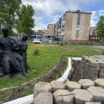 В Ленинске-Кузнецком приступили к реализации проекта по благоустройству