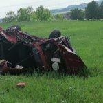 В Прокопьевском районе подросток погиб за рулем «Жигулей»