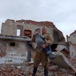 В Тяжинском энтузиасты реконструировали подвиг Николая Масалова