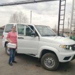Медики отдаленных сел Кузбасса начали получать новые отечественные автомобили