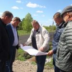 Глава Анжеро-Судженска Александр Рыбалко провел объезд городского округа