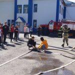 В Юрге соревновались юные пожарные