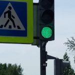 В Анжеро-Судженске установили вызывной светофор в мейнстримном месте