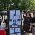 В кузбасском поселке жители на улице  декламировали стихи Александра Пушкина