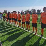 В Новокузнецком районе появилось первое футбольное поле с искусственным газоном