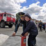 Анжеро-Судженские спасатели провели день безопасности для детей